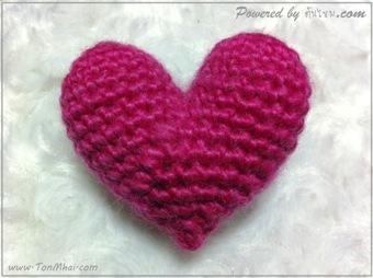 แบบที่สอง หัวใจ ทรงสมมาตร - Perfect Heart