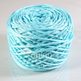 ไหมพรม คอตตอน เพิร์ล ฟ้าใสปิ๊ง (Pearl Cotton - Baby Blue)