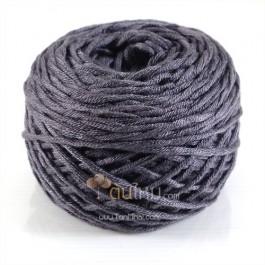 ไหมพรม คอตตอน เพิร์ล เทามืด (Pearl Cotton - Deep Gray)