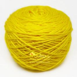ไหมพรมอินโดซิลค์ เหลืองดาวเรือง (Yellow Marigold)