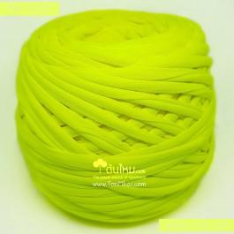 ไหมผ้า (T-shirt yarn) สีเหลืองนีออน (Neon Yellow)