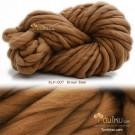 ไหมพรมเกาหลี บิ๊กลูป (Korean Big Loop) สีน้ำตาลหมี (Brown Bear)