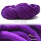 ไหมพรมเกาหลี บิ๊กลูป (Korean Big Loop) สีม่วงไทยพาณิชย์ (SCB Purple)