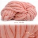 ไหมพรมเกาหลี บิ๊กลูป (Korean Big Loop) สีชมพูโอรสพาสเทล (Pink Pastel)