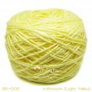 ไหมพรมเบบี้ซิลค์ เหลืองนวล (Light Yellow)