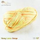 ไหมพรม คอตต้อน แบมบู สีน้ำผึ้ง/เหลือง/ส้ม (Honey/Lemon/Orange)