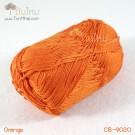 ไหมพรม คอตต้อน แบมบู สีส้ม (Orange)