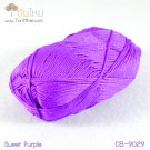 ไหมพรม คอตต้อน แบมบู สีม่วงหวาน (Sweet Purple)