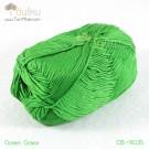 ไหมพรม คอตต้อน แบมบู สีเขียวต้นหญ้า (Green Grass)