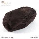 ไหมพรม คอตต้อน แบมบู สีน้ำตาลช๊อกโกแล๊ต (Chocolate Brown)