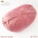 ไหมพรม คอตต้อน แบมบู สีชมพูเผือกวินเทจ (Pale Pink Vintage)