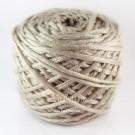ไหมพรม คอตตอน เพิร์ล เบจเข้ม (Pearl Cotton - Beige)
