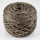 ไหมพรม คอตตอน เพิร์ล น้ำตาลอมเทาแก่ (Pearl Cotton - Dark Khaki Brown)