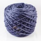 ไหมพรม คอตตอน เพิร์ล น้ำเงินม่วงอมเทา (Pearl Cotton - Violet Blue Gray)