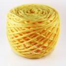 ไหมพรม คอตตอน เพิร์ล เหลืองสดใสอมส้ม (Pearl Cotton - Fresh Light Yellow shade Orange)
