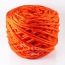ไหมพรม คอตตอน เพิร์ล ส้มสด (Pearl Cotton - Orange)