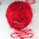 ไหมพรม สโนว์วี่ คริสตัล แดง Red Pink