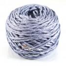ไหมพรม คอตตอน เพิร์ล เทากลางอมฟ้า (Pearl Cotton - Gray Blue)