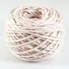 ไหมพรม คอตตอน เพิร์ล เบจเนื้ออ่อนอมชมพูจาง (Pearl Cotton - Light Ivory Beige)