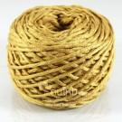 ไหมพรม คอตตอน เพิร์ล สีพระ กรักทอง (Pearl Cotton - Golden Turmeric Brown)