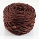 ไหมพรม คอตตอน เพิร์ล น้ำตาลอมแดง (Pearl Cotton - Brown shade Red)