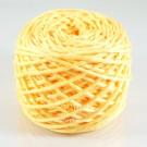 ไหมพรม คอตตอน เพิร์ล เหลืองลูกเจี๊ยบอมส้ม (Pearl Cotton - Chicky Yellow)