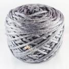 ไหมพรม คอตตอน เพิร์ล เทากลางเกือบเข้ม (Pearl Cotton - Middle Dark Gray)