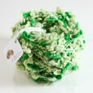 ไหมพรมดอกไม้ เขียวเข้ม/เขียวอ่อน ไล่สี