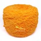 ไหมพรมขนแกะสีส้มจี๊ด