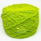ไหมพรมขนแกะสีเขียวมะนาว