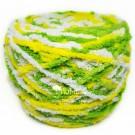 ไหมพรมขนแกะเหลือบ สีข้าวเหนียวสังขยาใบเตย (ขาว/เหลือง/เขียวเข้ม)