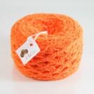 ไหมพรมขนแกะสีส้มแสด