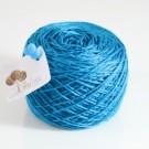 ไหมพรมอินโดซิลค์ น้ำเงินเทอร์ควอยซ์(turquoise)