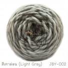 ไหมพรมเส้นใหญ่จัมโบ้ซุปเปอร์ซอฟท์ สีเทาอ่อน (Jumbo SuperSoft - Light Gray)