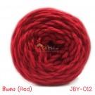 ไหมพรมเส้นใหญ่จัมโบ้ซุปเปอร์ซอฟท์ สีแดง (Jumbo SuperSoft - Red)