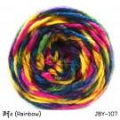 ไหมพรมเส้นใหญ่จัมโบ้ซุปเปอร์ซอฟท์ สีรุ้ง (Jumbo SuperSoft - Rainbow)