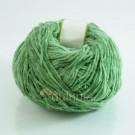 ไหมพรมกำมะหยี่ (momotara) สีเขียวหม่น