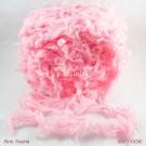 ไหมพรมขนเฟอร์ ซิลค์กี้ ซอฟท์ (Silky Soft Fur) สีชมพูพาสเทล (Pink Pastel)