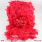 ไหมพรมขนเฟอร์ ซิลค์กี้ ซอฟท์ (Silky Soft Fur) สีแดง (Red)