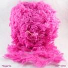 ไหมพรมขนเฟอร์ ซิลค์กี้ ซอฟท์ (Silky Soft Fur) สีชมพูเข้มอมม่วง (Magenta)
