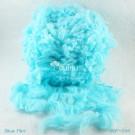 ไหมพรมขนเฟอร์ ซิลค์กี้ ซอฟท์ (Silky Soft Fur) สีฟ้าใส-ฟ้ามิ๊นท์ (Blue Mint)