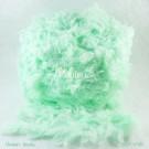 ไหมพรมขนเฟอร์ ซิลค์กี้ ซอฟท์ (Silky Soft Fur) สีเขียวโซดา (Green Soda)