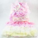 ไหมพรมขนเฟอร์ ซิลค์กี้ ซอฟท์ (Silky Soft Fur) สีครีมมี่พิ๊งกี้ - เหลืองอ่อน/ขาว/ชมพูม่วง/ชมพูพาสเทล (Creamy Pinky - LightYellow/White/PurplePink/PinkPastel)