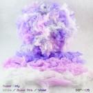 ไหมพรมขนเฟอร์ ซิลค์กี้ ซอฟท์ (Silky Soft Fur) สีสวีทเกิร์ลลี่ ขาว/ชมพูหวาน/ม่วง (Sweet Girly - White/SweetPink/Violet)