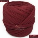 ไหมผ้า (T-shirt yarn) สีแดงอมน้ำตาล มะฮอกกานี (Red Brown - Mahogany)