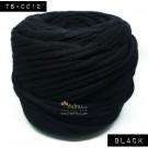 ไหมผ้า (T-shirt yarn) สีดำ (Black)