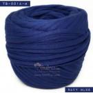 ไหมผ้า (T-shirt yarn) สีน้ำเงินกรมท่า น้ำเงินนาวี (Navy Blue)