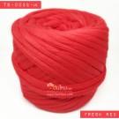 ไหมผ้า (T-shirt yarn) สีแดงสด (Fresh Red)