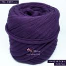 ไหมผ้า (T-shirt yarn) สีม่วงมังคุด (Mangosteen Purple)