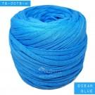 ไหมผ้า (T-shirt yarn) สีน้ำเงินครามโอเชี่ยน (Ocean Blue)